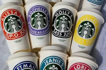 These Personalized Starbucks Cups Are So Hilarious and Spot on, You'll Want to Order 10