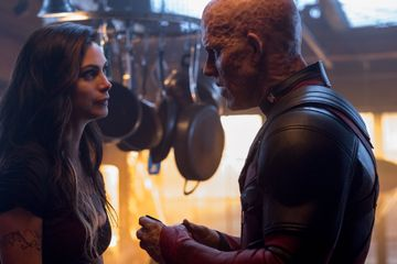 What's It Like to Kiss Ryan Reynolds? Deadpool 2's Morena Baccarin Has a Hilarious Answer