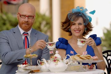 I'm in Tears Watching Will Ferrell and Molly Shannon's Hysterical Royal Wedding Coverage