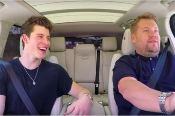 "Shawn Mendes Admits He ""Would Buy Justin Bieber's Underwear"" During Carpool Karaoke"