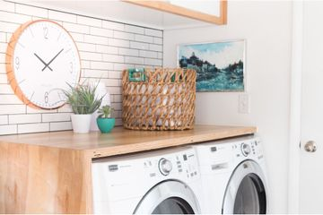 This DIY Laundry Room Makeover Is Filled With Clever Ideas