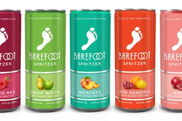 Barefoot Wine Officially Has Spritzers in a Can, and OMG, Gimme the Red Sangria!