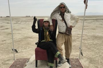 Why I brought my parents to Burning Man