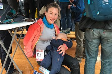 This ultra-marathoner breastfed 16 hours into 107-mile race