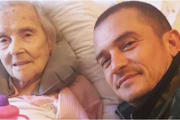"Orlando Bloom Pens Heartwarming Tribute to His 98-Year-Old Grandmother: ""Cherish the Memories"""