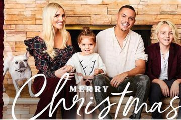 Ashlee Simpson and Evan Ross's Holiday Card Is So Cute, You'll Totally Want to Copy It