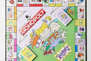 Urban Outfitters Dropped a Rugrats Monopoly Game, and Dibs on the Reptar Game Piece!