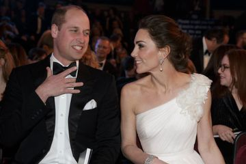 William and Kate Met All the BAFTA Winners, and We Don't Know Who Was the Most Excited