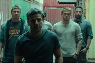 All Your Internet Boyfriends Smolder Through the Action-Packed Trailer For Triple Frontier