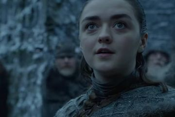 Game of Thrones: There Are Dragons in Winterfell, and Arya Stark Looks . . . Excited?!