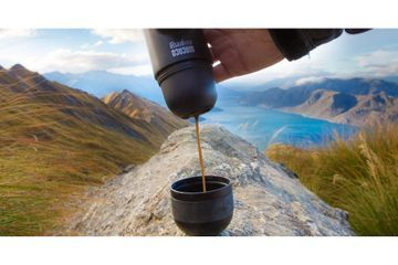 This Portable Espresso Machine on Amazon Allows You to Drink Fresh Coffee Anywhere - Genius!