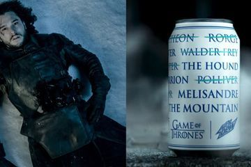 Mountain Dew Is Hosting a Game of Thrones Contest, and First Prize Is White-Walker-Approved