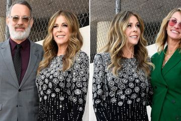 Rita Wilson Gets a Hollywood Star With Support From Husband Tom Hanks and Julia Roberts