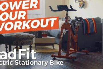 Radfit introduces the first electric stationary bike