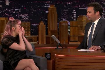 "Damn, Maisie Williams Totally Got Me With This Dramatic Game of Thrones ""Spoiler"""