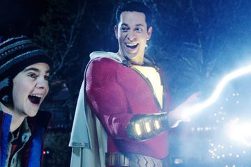 Shazam!'s Zachary Levi Is on a Mission to Make Superhero Movies Fun Again