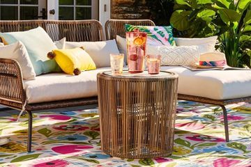Turn Your Backyard Into a Boho Escape With These Wicker Furniture Pieces