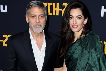 George and Amal Clooney Turned the Catch-22 Premiere Into a Downright Darling Date Night