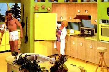 The Midcentury Kitchen is a riot of color, from avocado green to harvest gold (Book review)