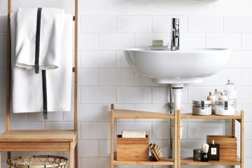 Your Bathroom Basics Will Have a Place to Call Home With These Storage Solutions From Ikea