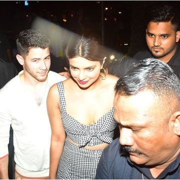 Nick Jonas Arrives in India With Priyanka Chopra to Meet Her Mother For the First Time