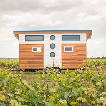 Valhalla is an elegant tiny house for a family of three