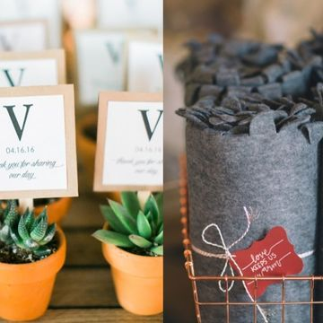 100 Wedding Favors Your Guests Will Actually Use