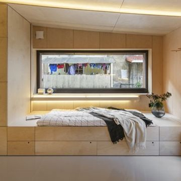 Modern 226 sq. ft. micro-home is hidden in converted garage