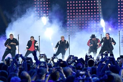 "Backstreet's Back, Alright: Watch the Band Perform ""Don't Go Breaking My Heart"" at the CMTs"